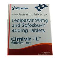 Cimivir-L hepcinat lp Generic Harvoni Sofosbuvir Ledipasvir