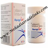 Natco hepcinat lp Generic Harvoni Sofosbuvir Ledipasvir